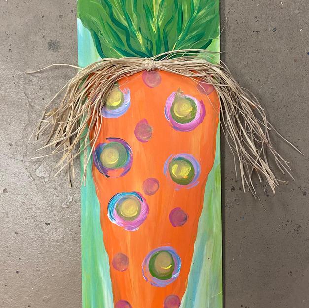 Carrot Skinny Board