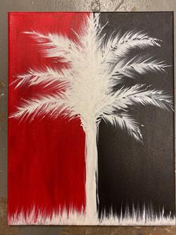 Carolina Palmetto Canvas