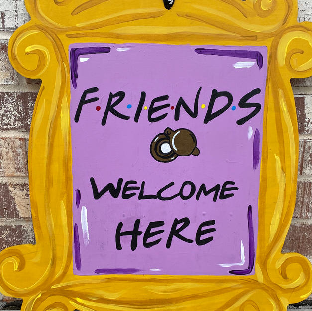 #156 Friends Frame