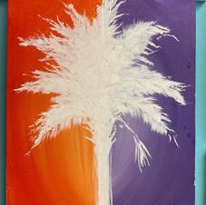 Clemson Tree Silhouette Canvas