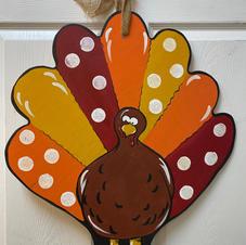 Turkey Wood Cutout