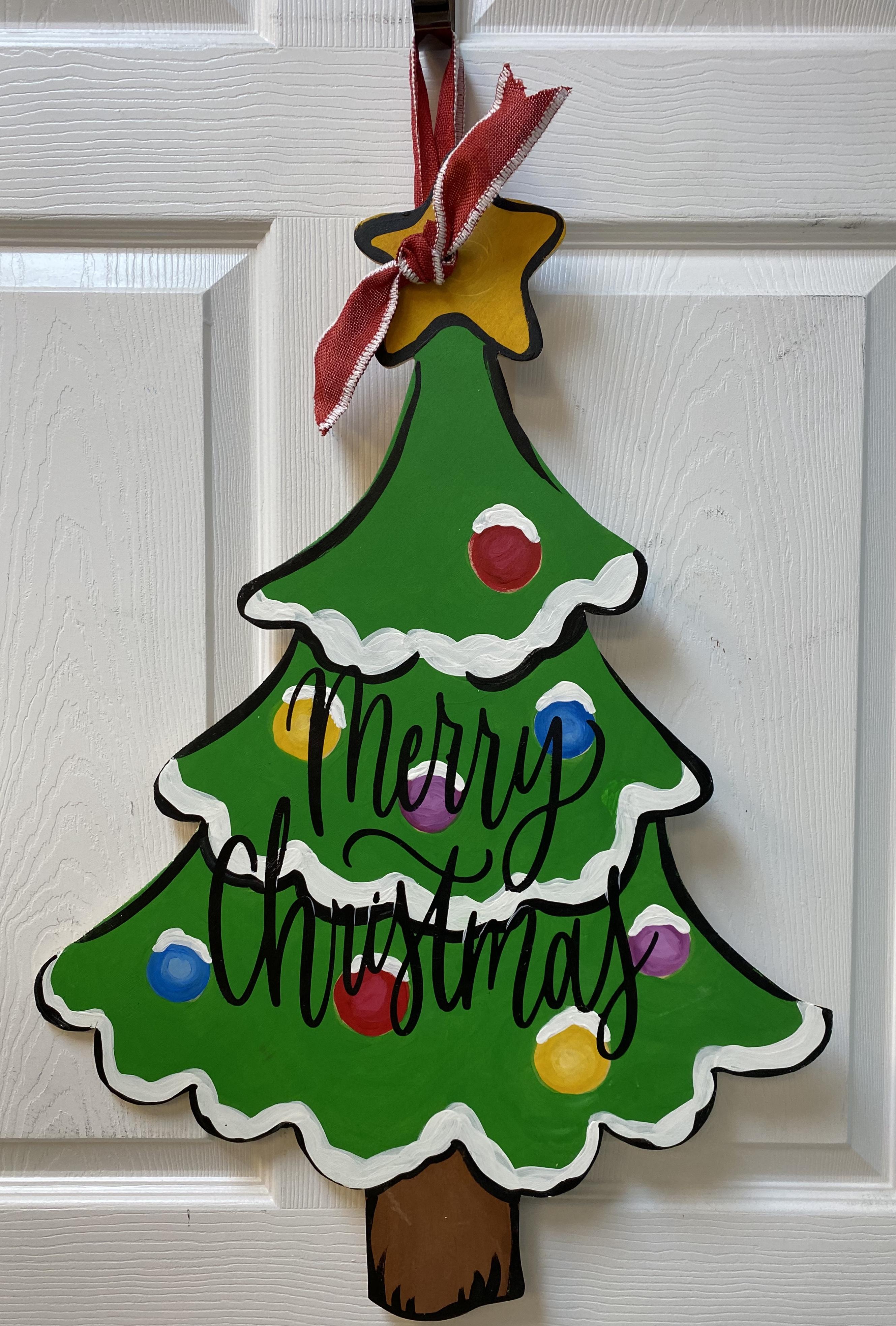 Christmas Tree Board