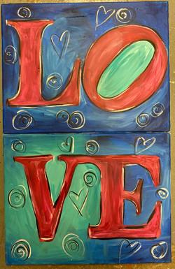 Love Combo Canvas