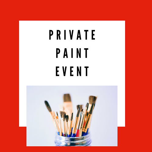 Saturday, Feb. 6, 6-8pm Private Paint Event with Sarah