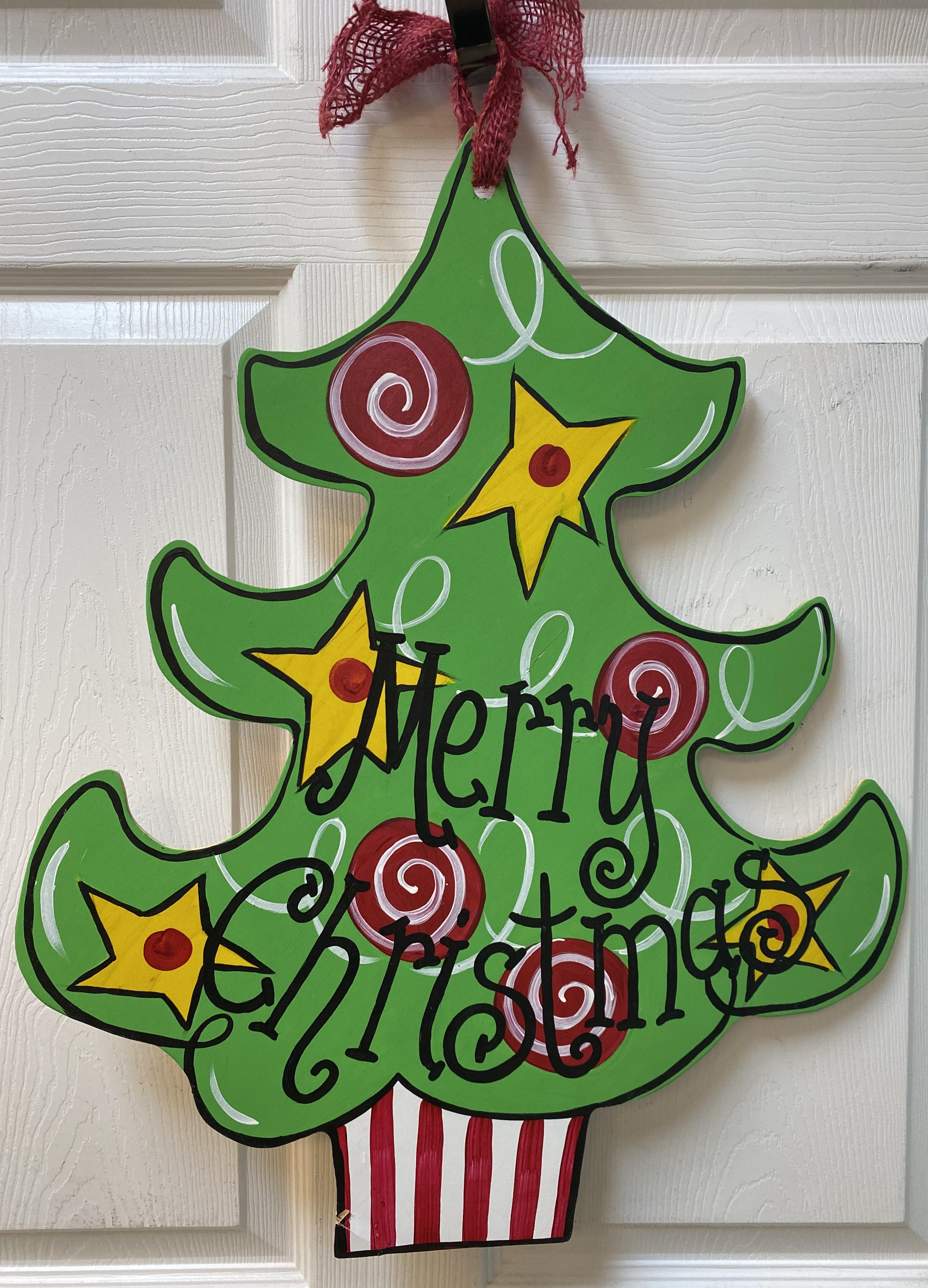 Christmas Tree Board 2