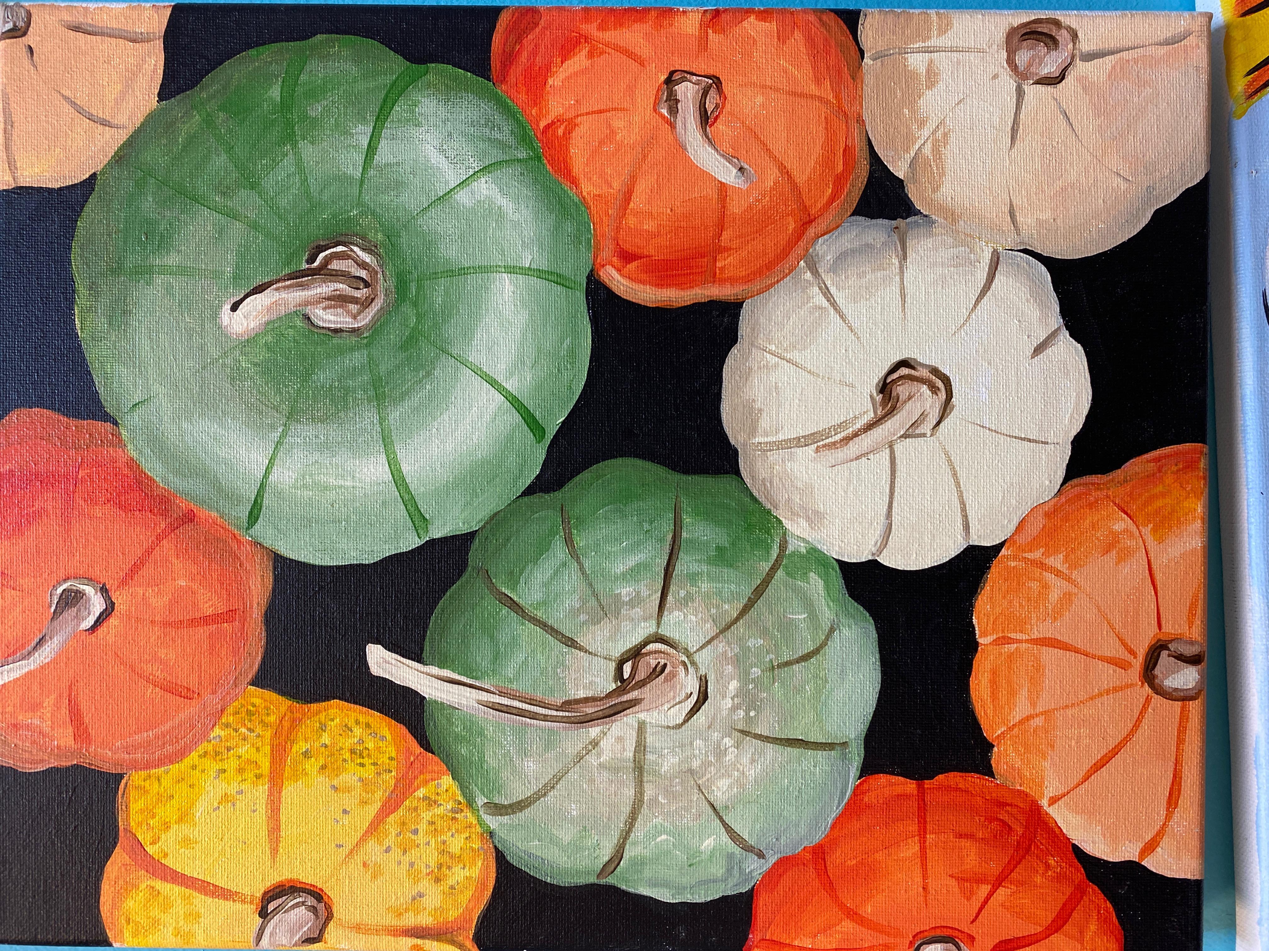 Mini Pumpkins Canvas