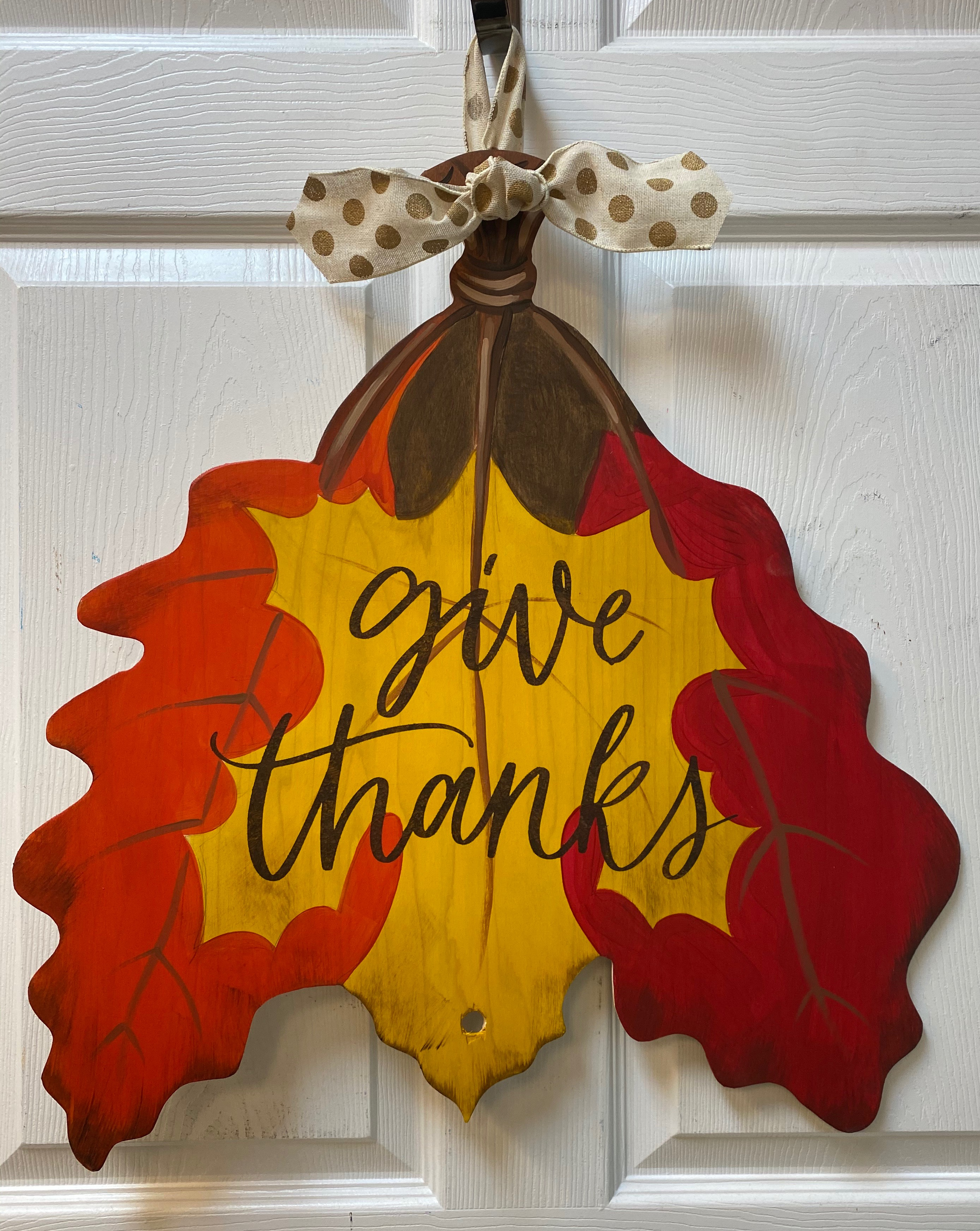 Thanksgiving Leaves Board