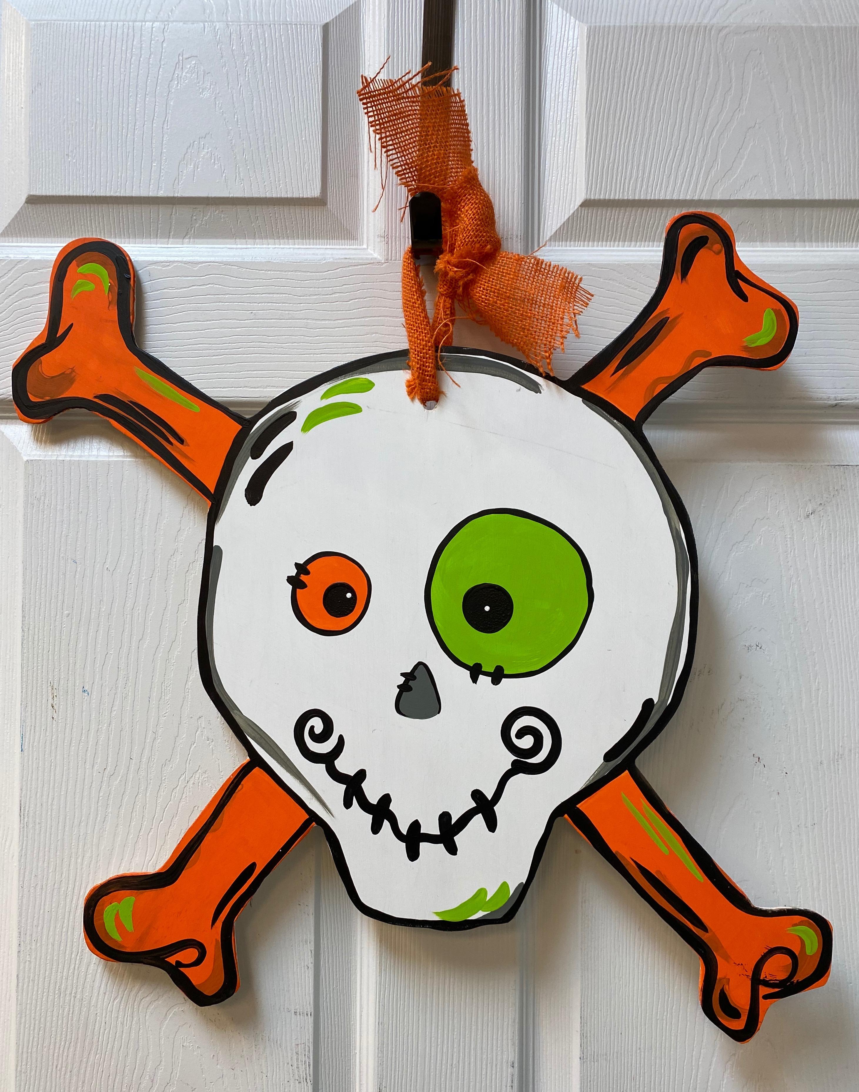 Halloween Skull Board