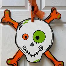 Skull & Crossbons Wood Cutout