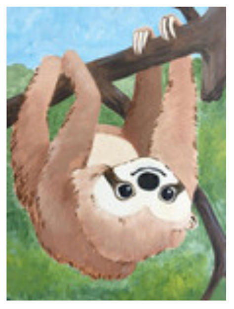 Sloth Canvas