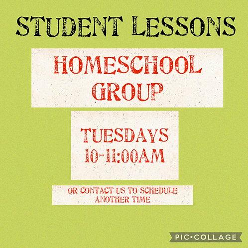 Homeschool Group, Tuesdays 10-11am