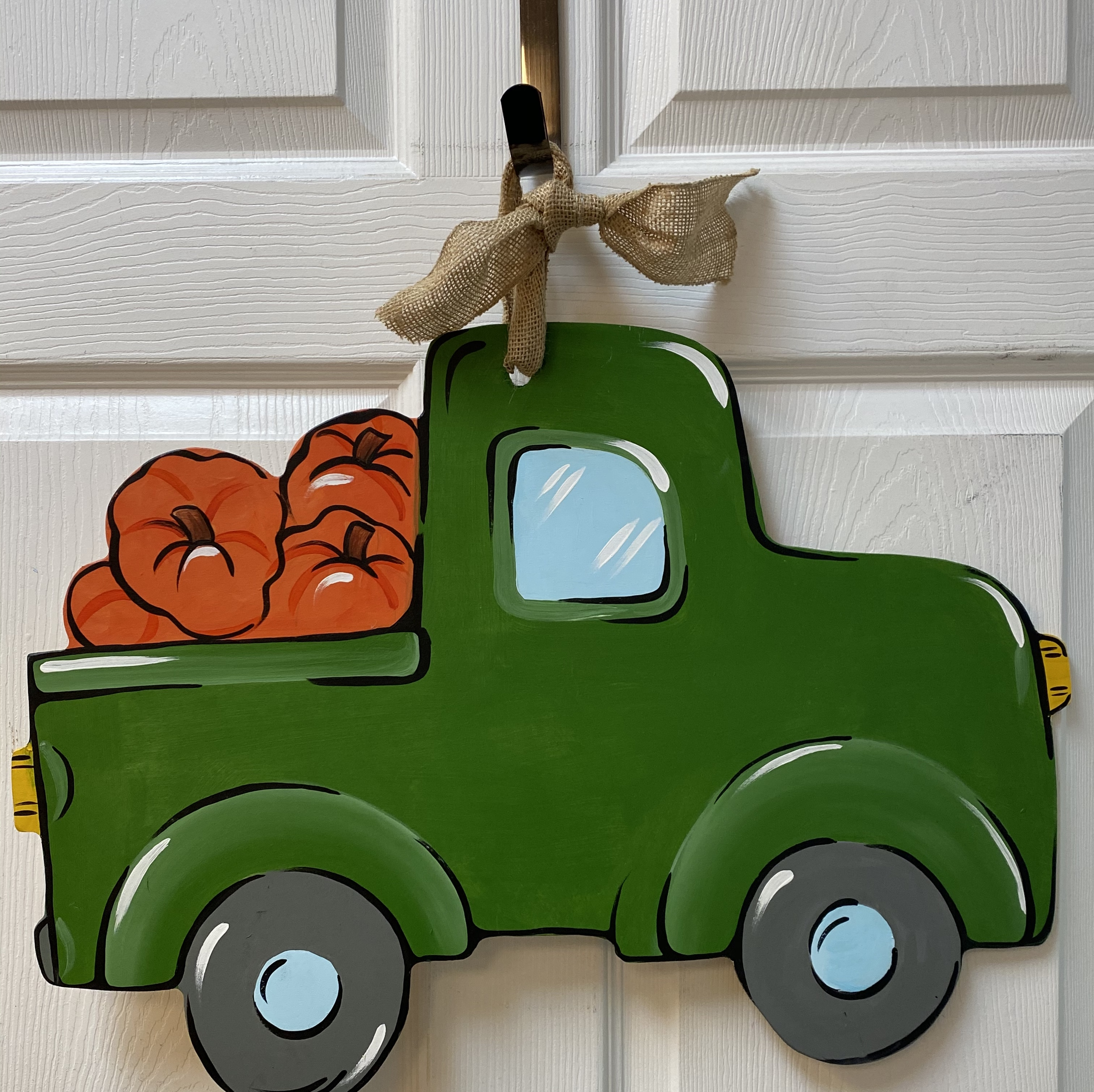 Pumpkin Truck Board