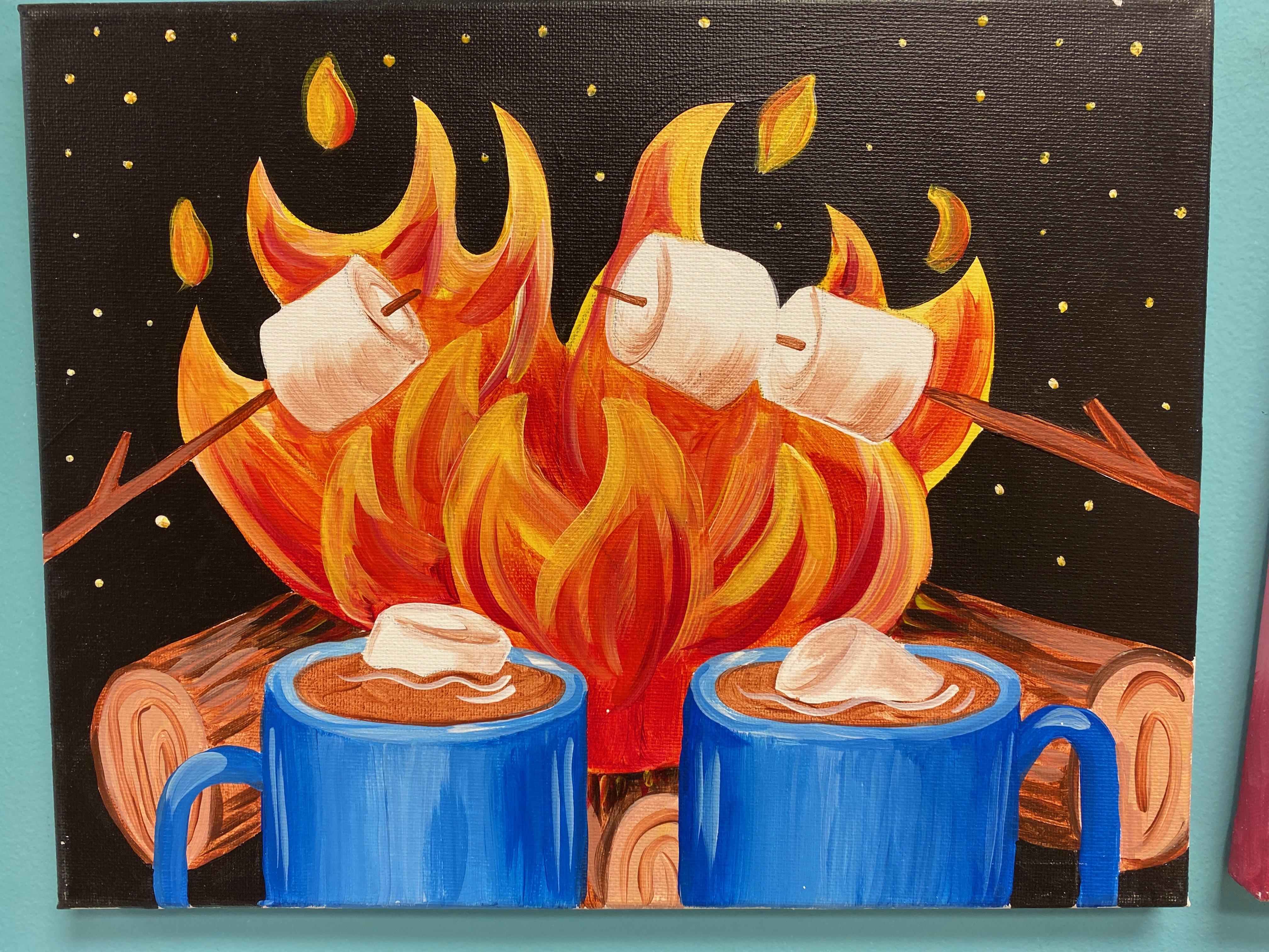 Campfire Canvas