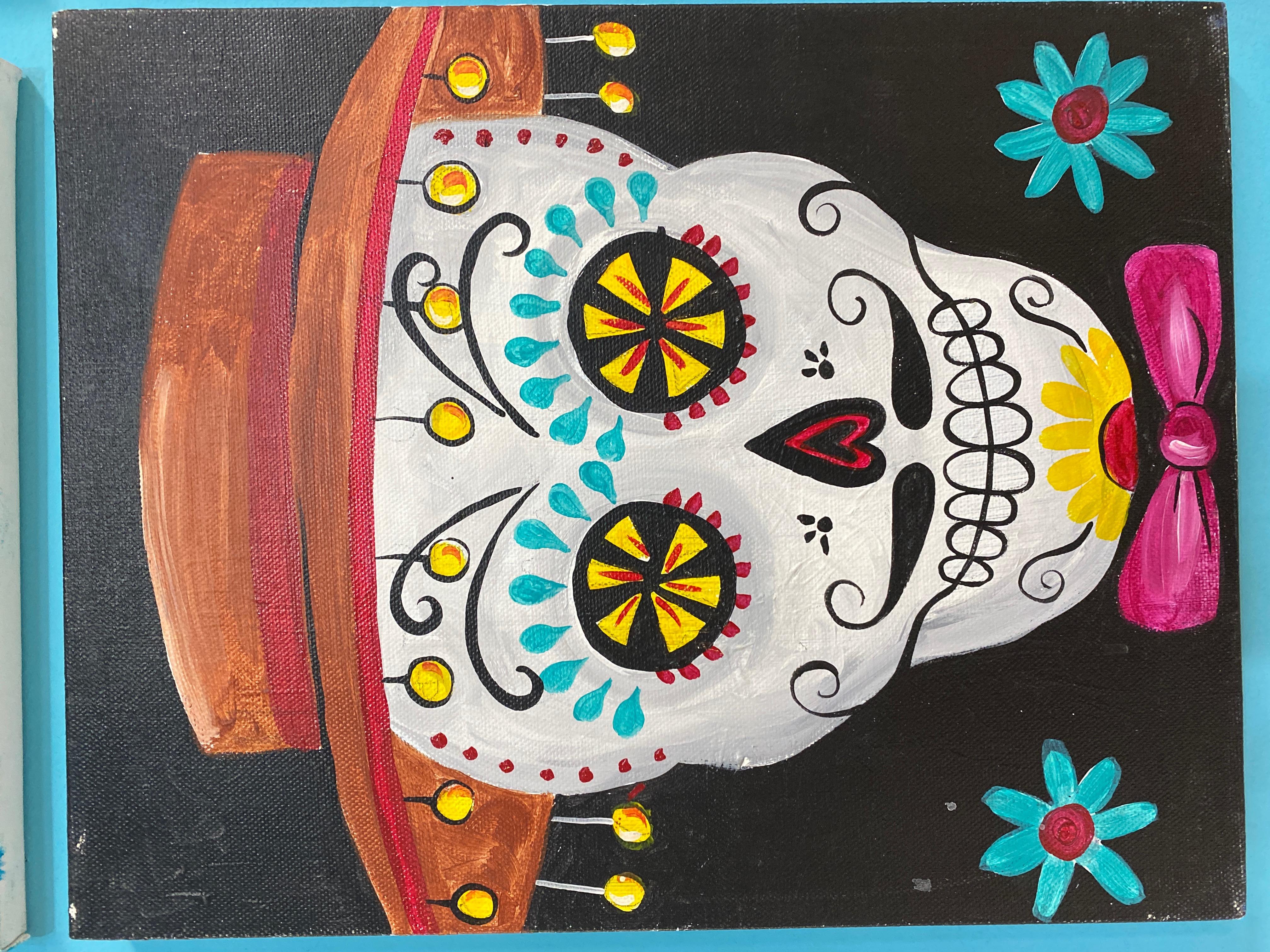 Dia De Muertos 3 Canvas