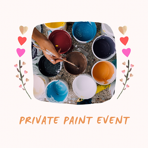 Saturday, August 28, 5-7pm Private Event with Emily M.