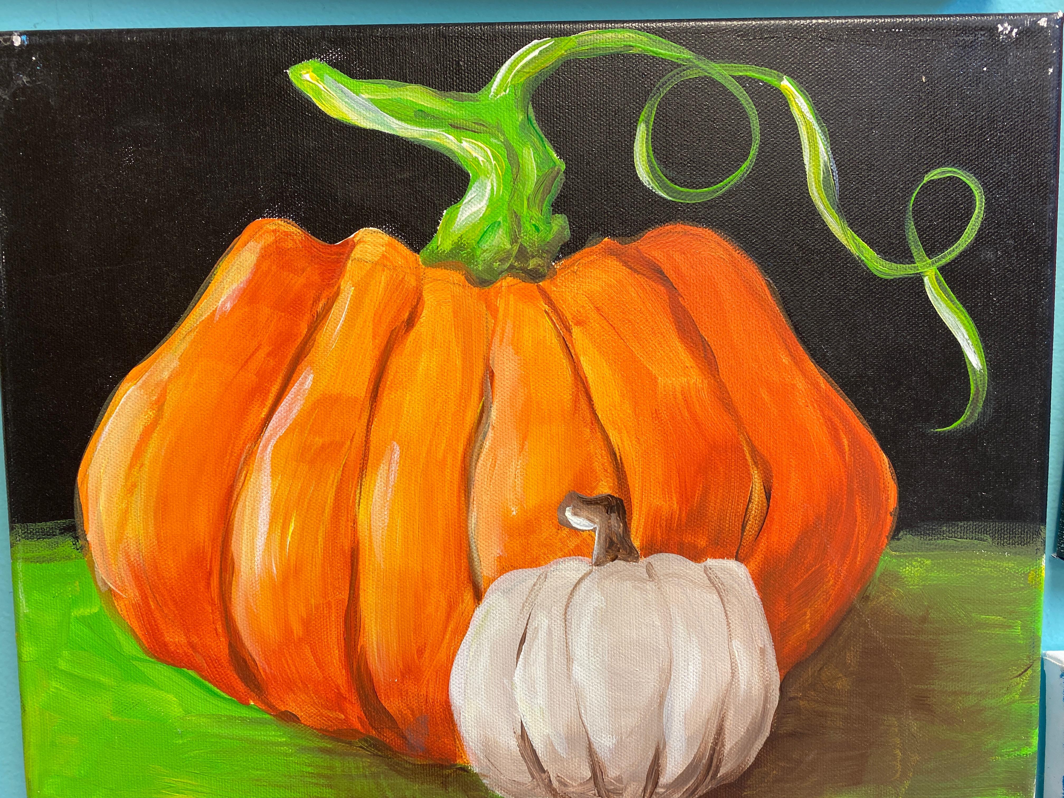 Pumpkin 2 Canvas