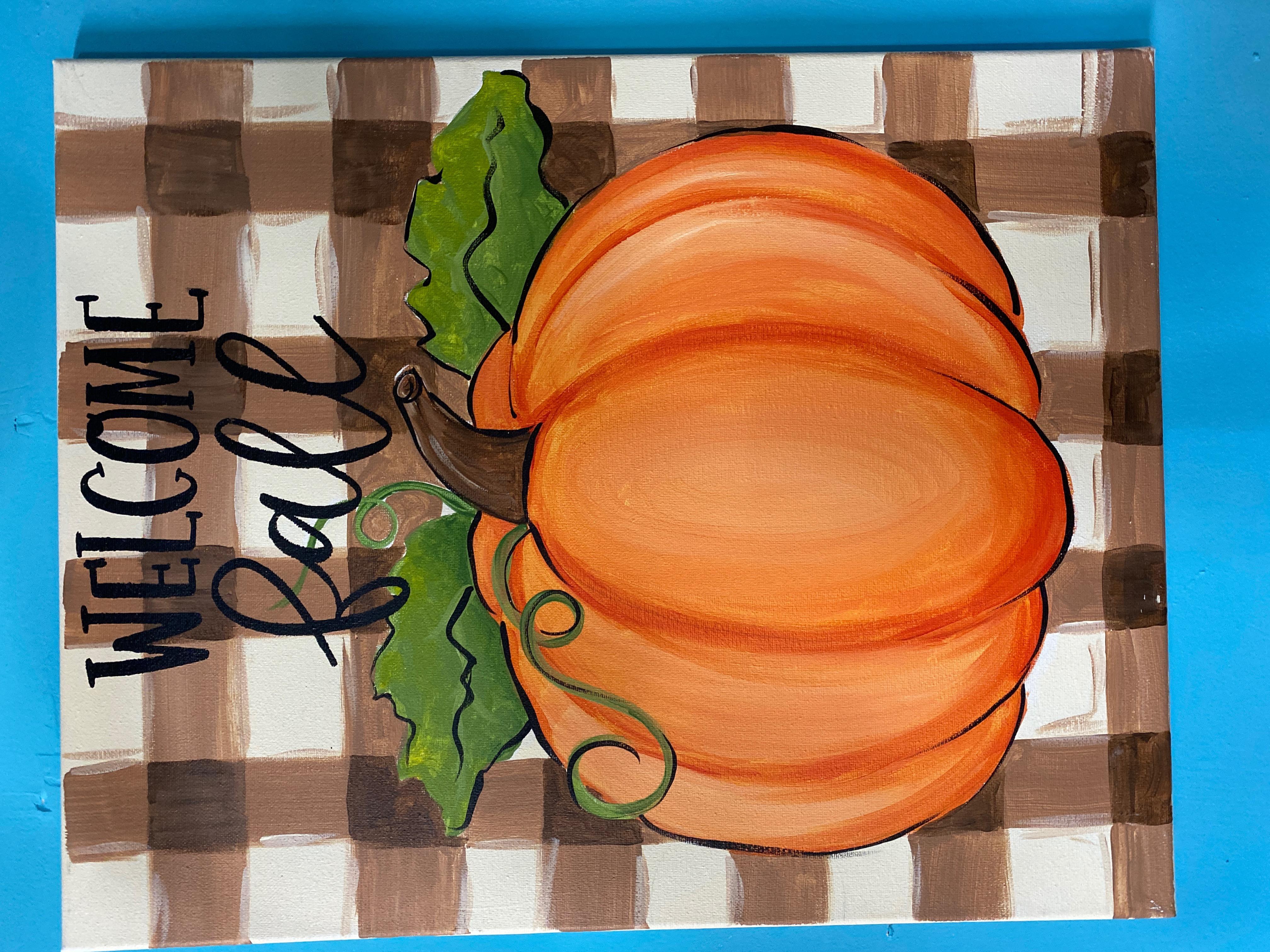 Pumpkins 3 Canvas