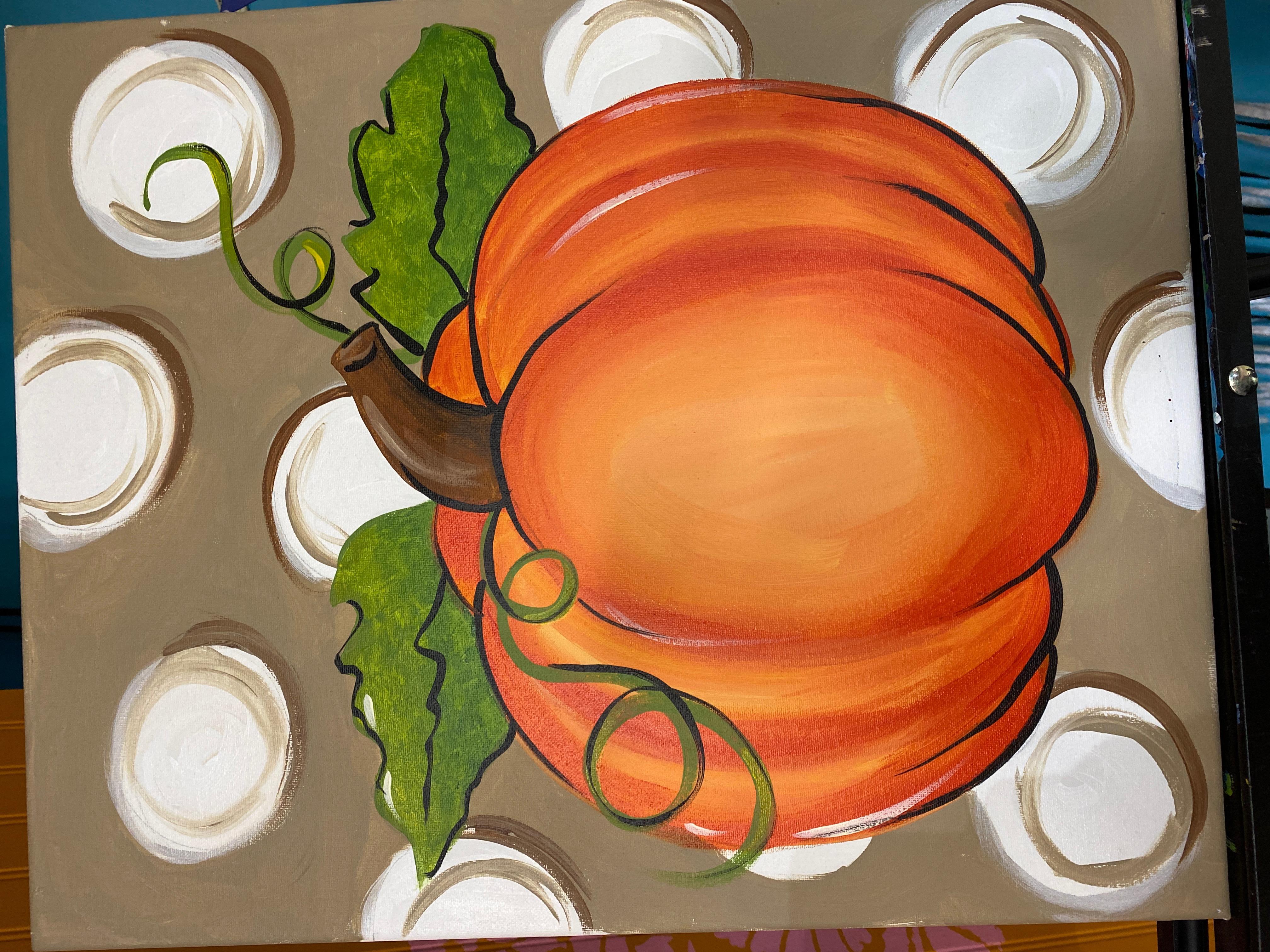 Pumpkins 4 Canvas