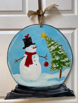 Snow Globe Board