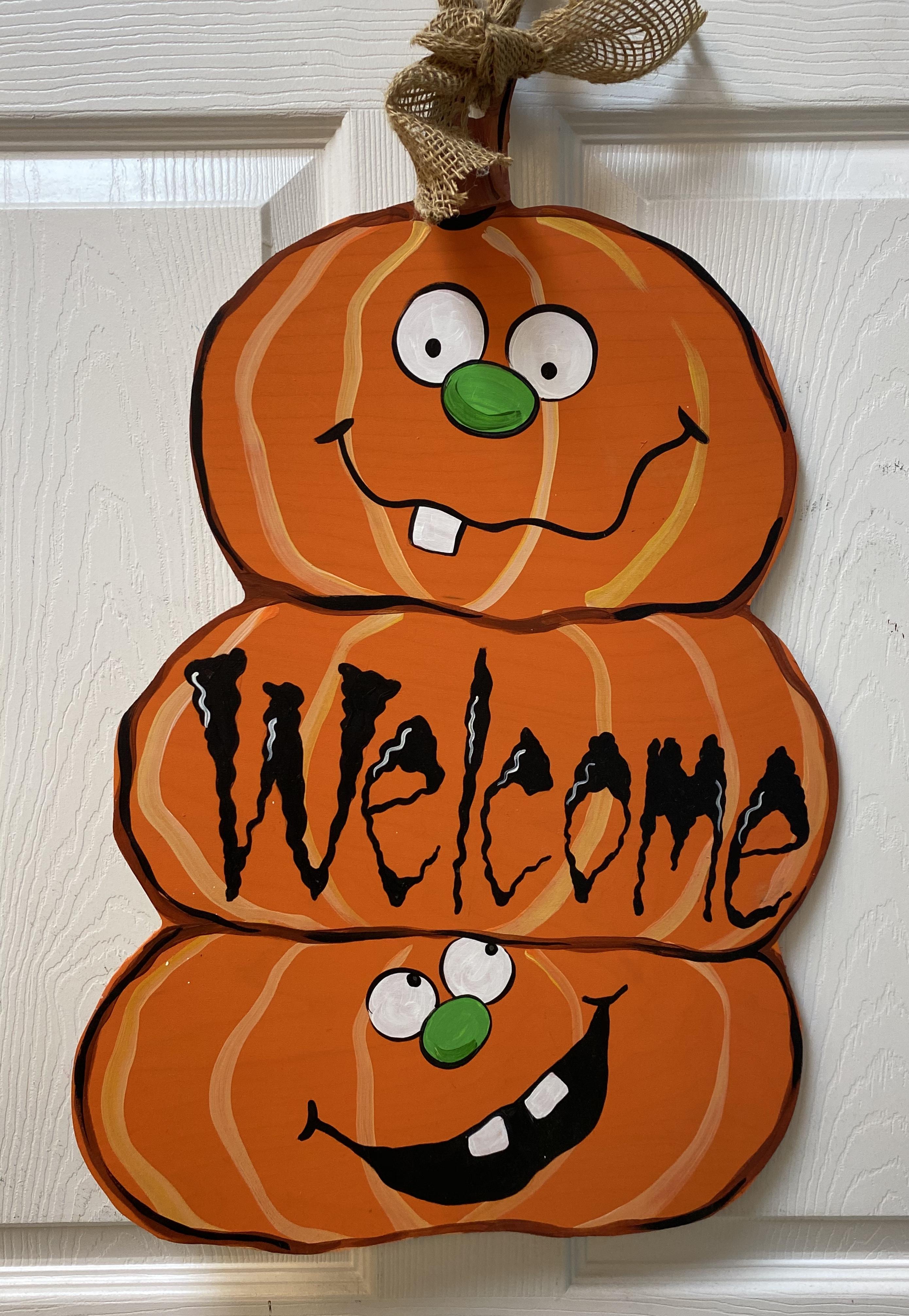 Stacked Pumpkins Board