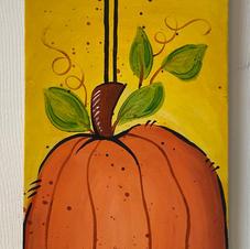Bird & Pumpkin Skinny Board