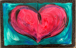 Heart Combo Canvas