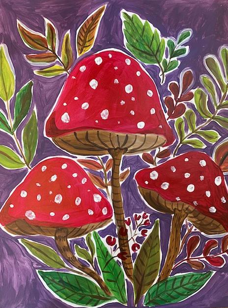 Mushroom Trio