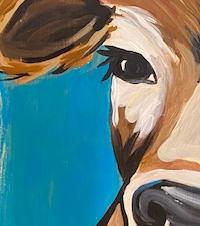 Cow Skinny Board