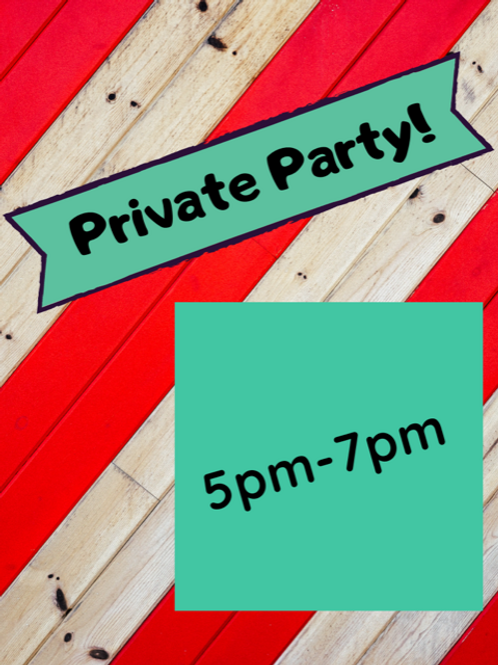 Friday, November 20, 5-7pm Private Event, Oswald Party