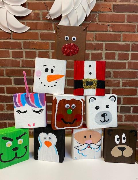Kids Crafts Blocks