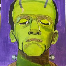 Frankenstein Canvas