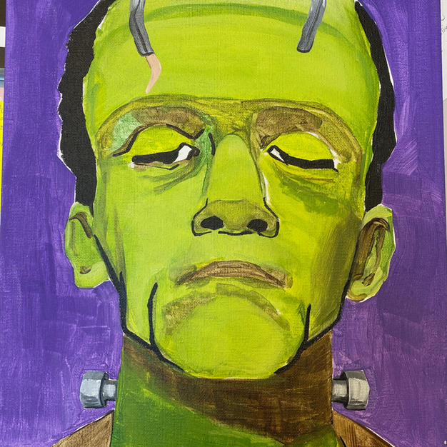 Frankenstein Canvas