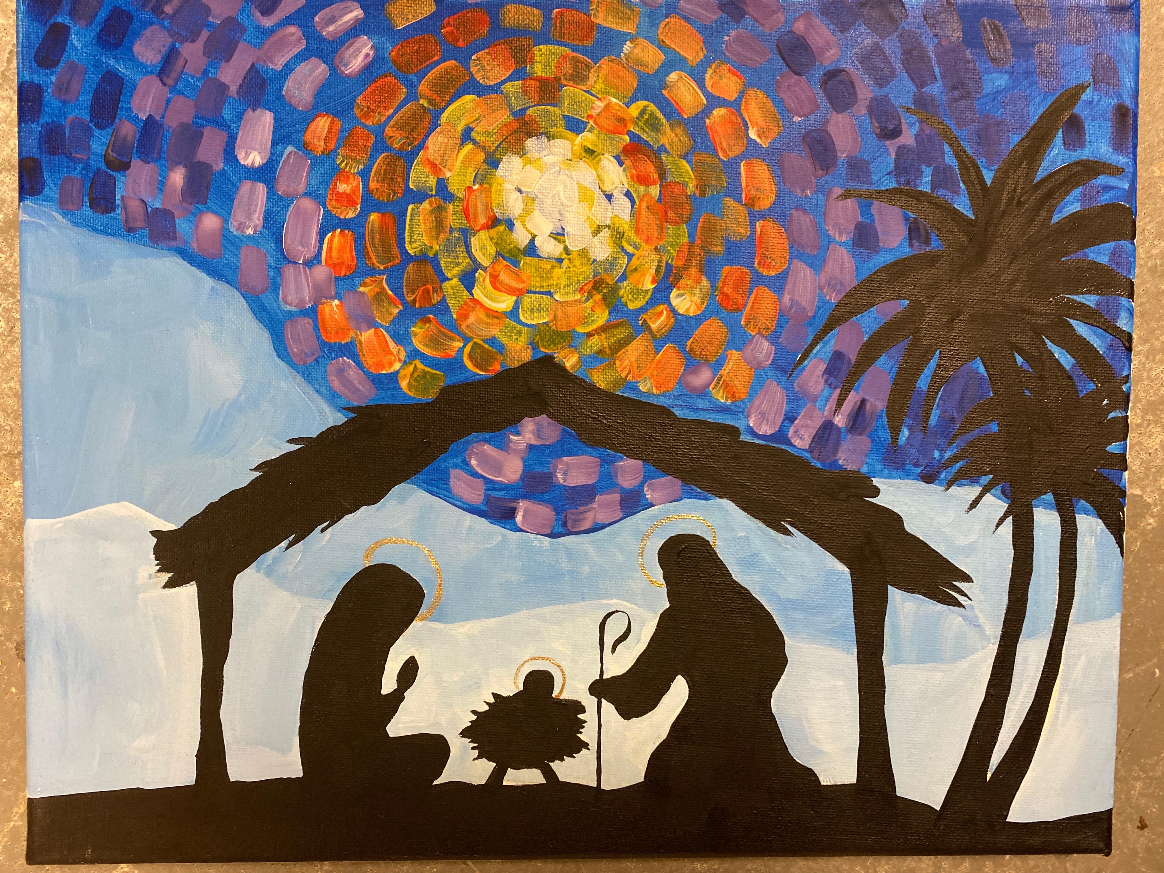 Nativity Canvas