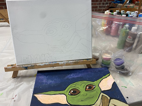 DIY Paint To-Go Kit