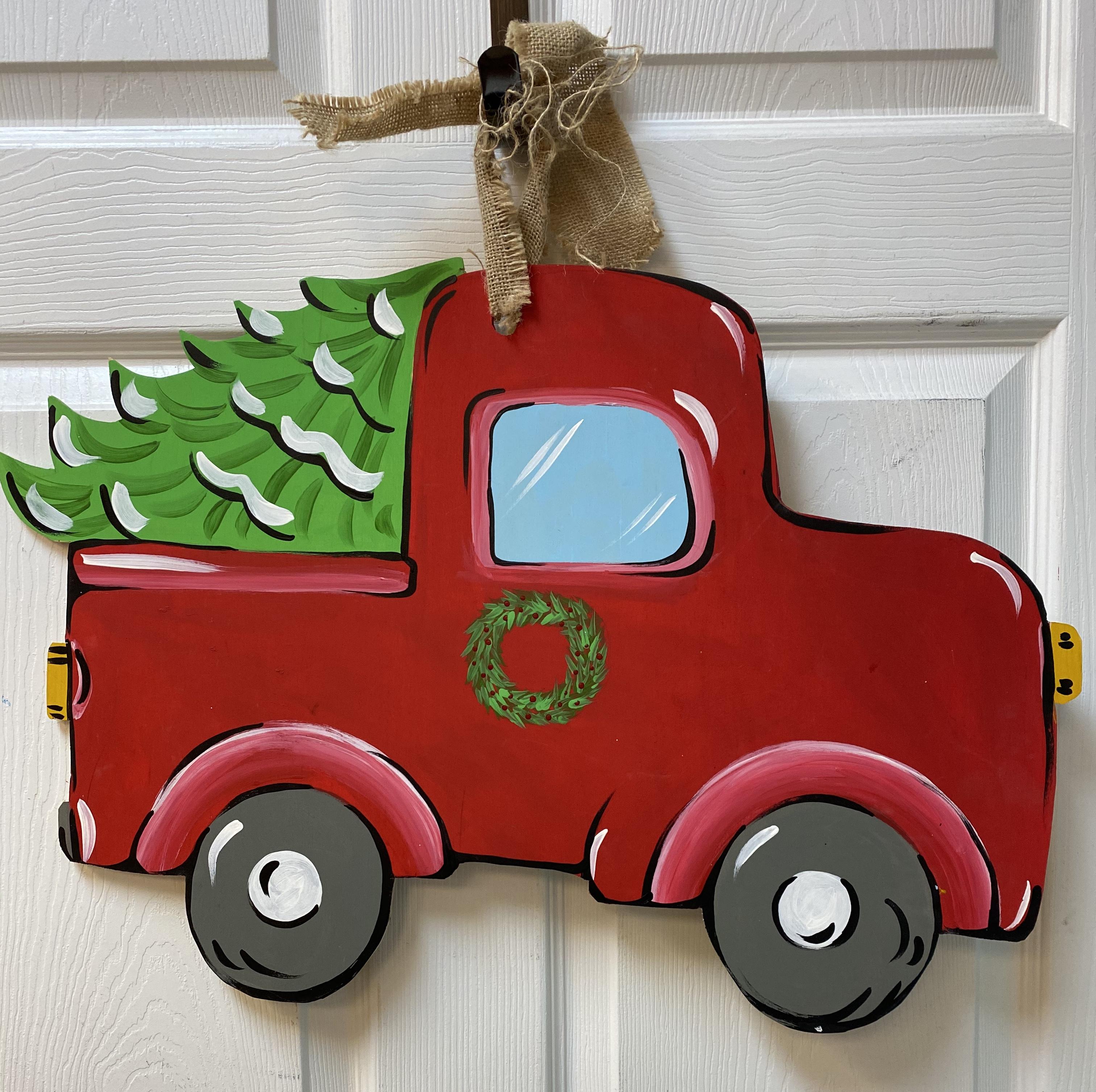 Christmas Tree Truck Board