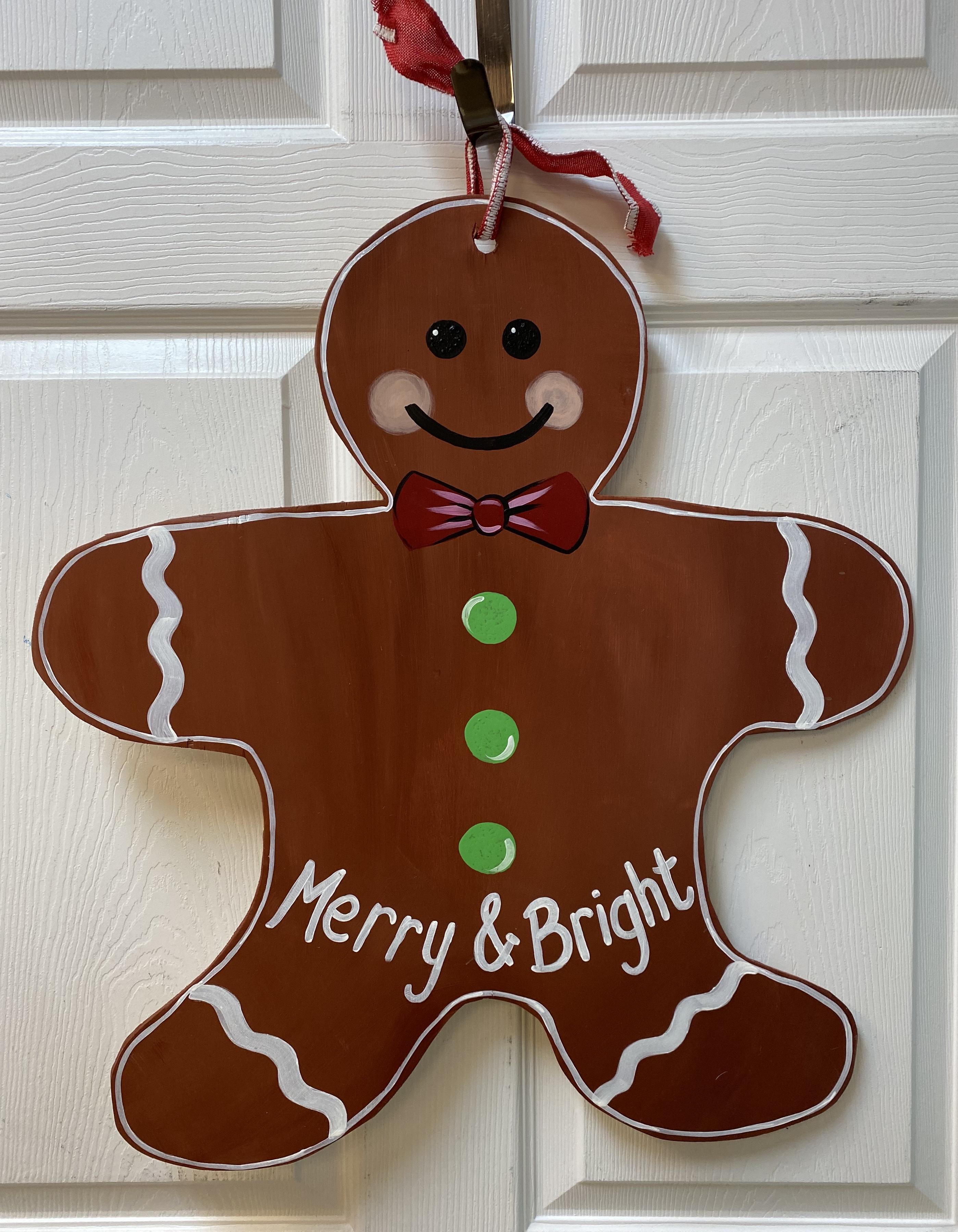 Gingerbread Cookie Board
