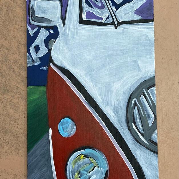 VW Bus Skinny Board