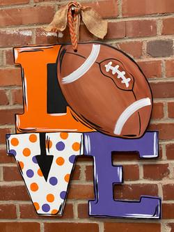 Love Football Board
