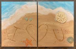 Beach Sand Combo Canvas