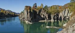 Чемал и Камышлинский водопад