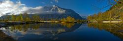 Телецкое озеро - с севера на юг