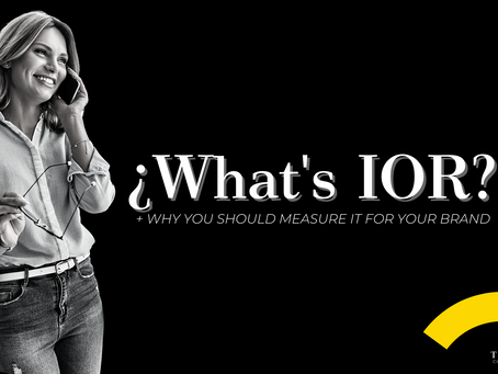 What's IOR? + why you should measure it for your brand