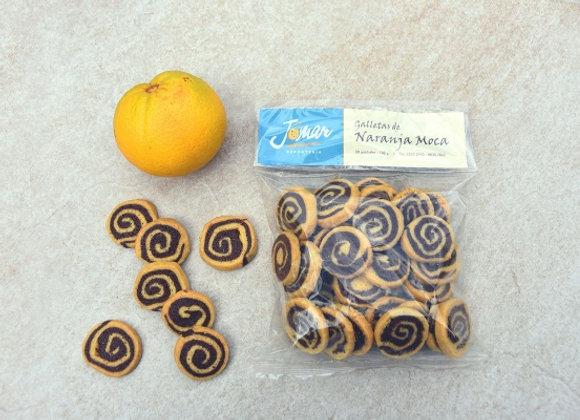 Galletas Naranja Moca, 30 uds