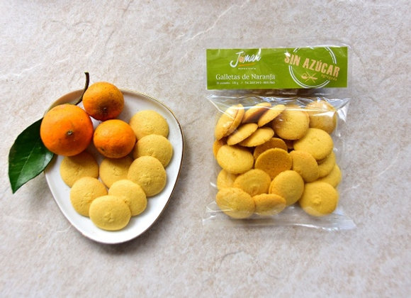 Galletas de Naranja Sin Azúcar, 30 uds