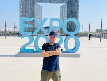 Filming at Expo 2020 Dubai