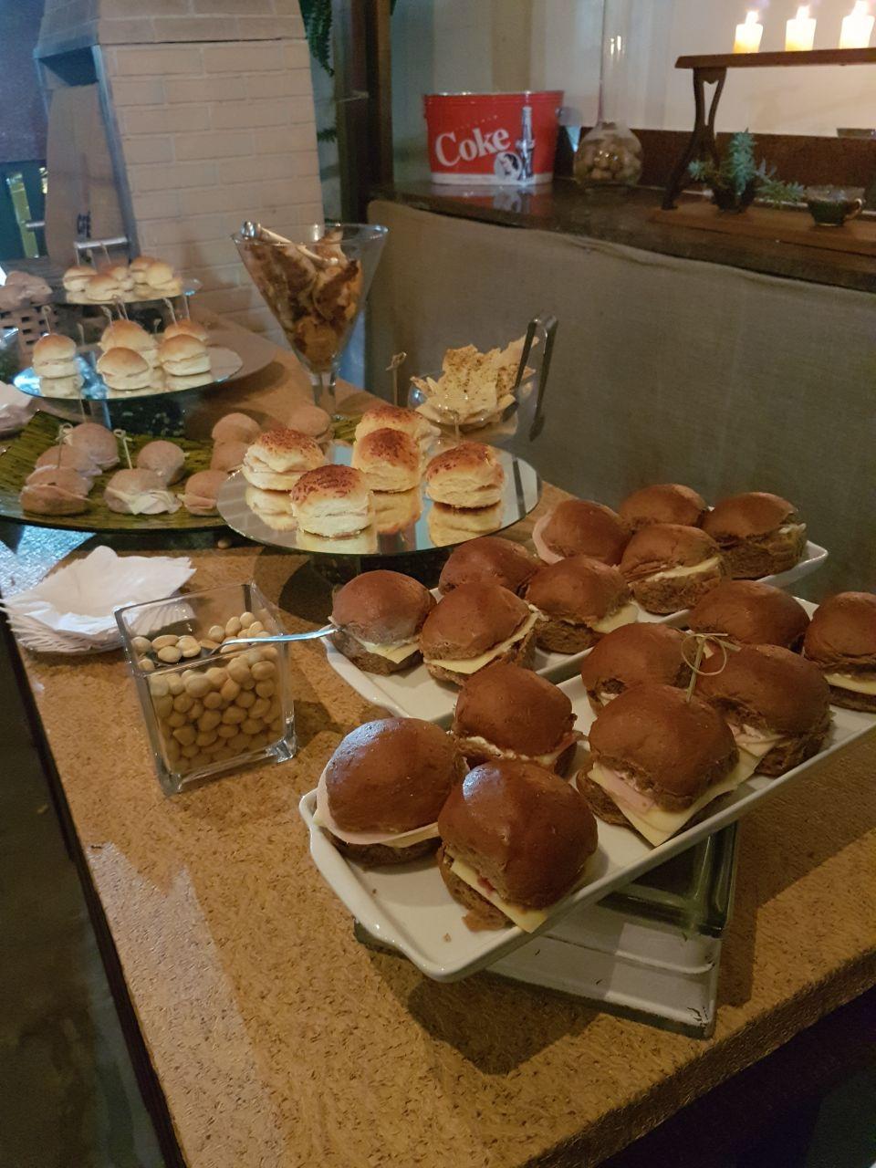 Cafeteria e espaço para eventos