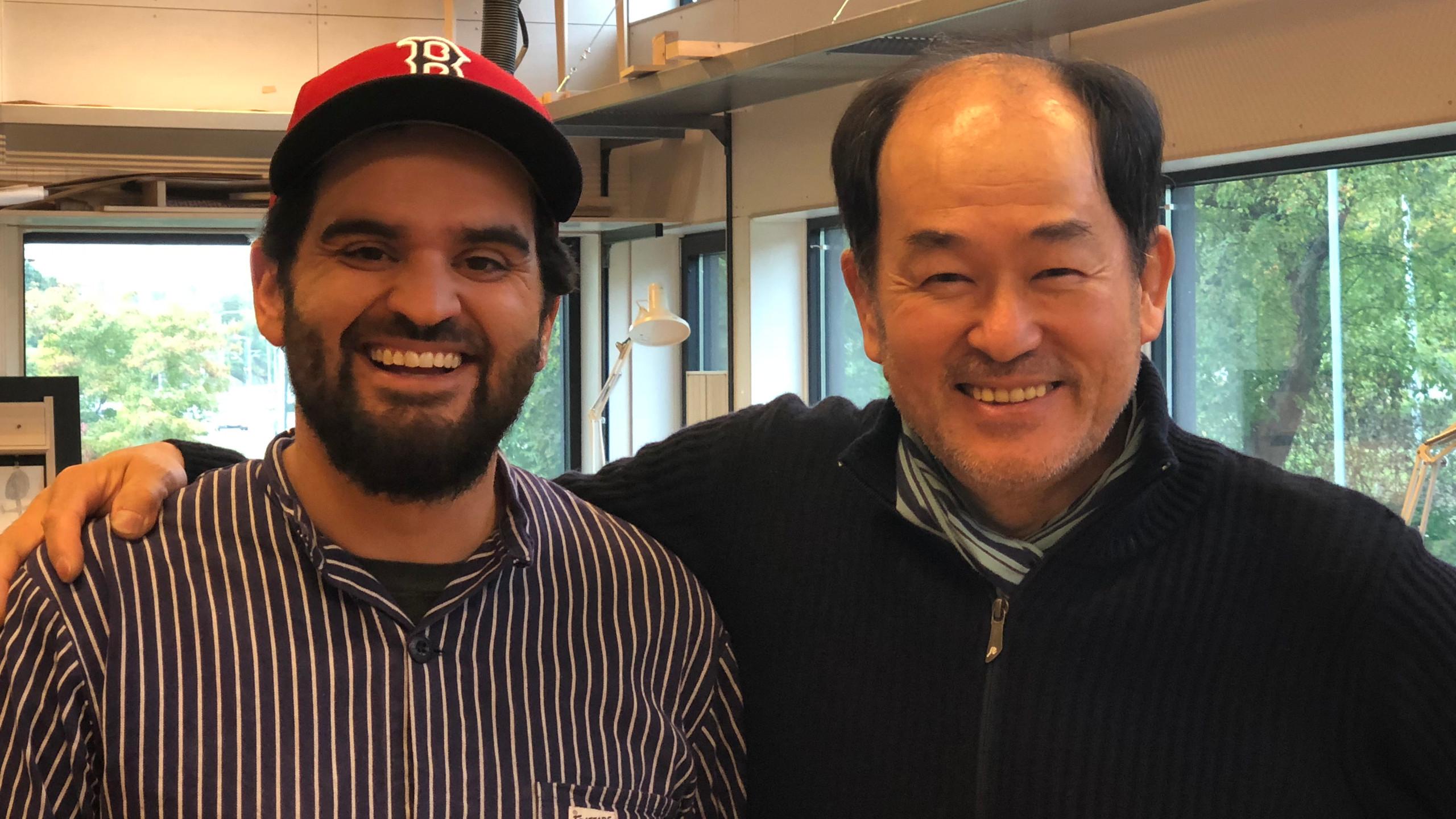 Sebastian Mateu y Kenji Komatsu