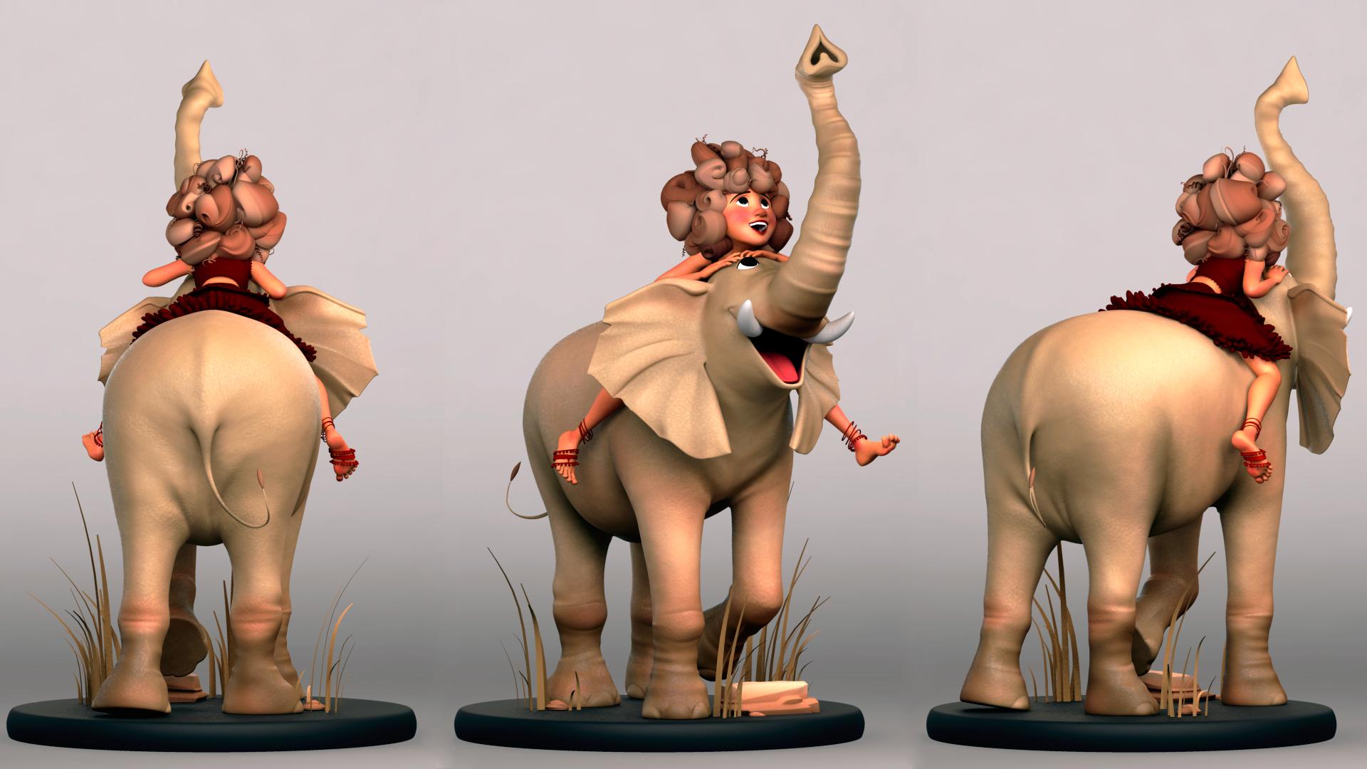 Elephant Girl by Amanda Macfarlane