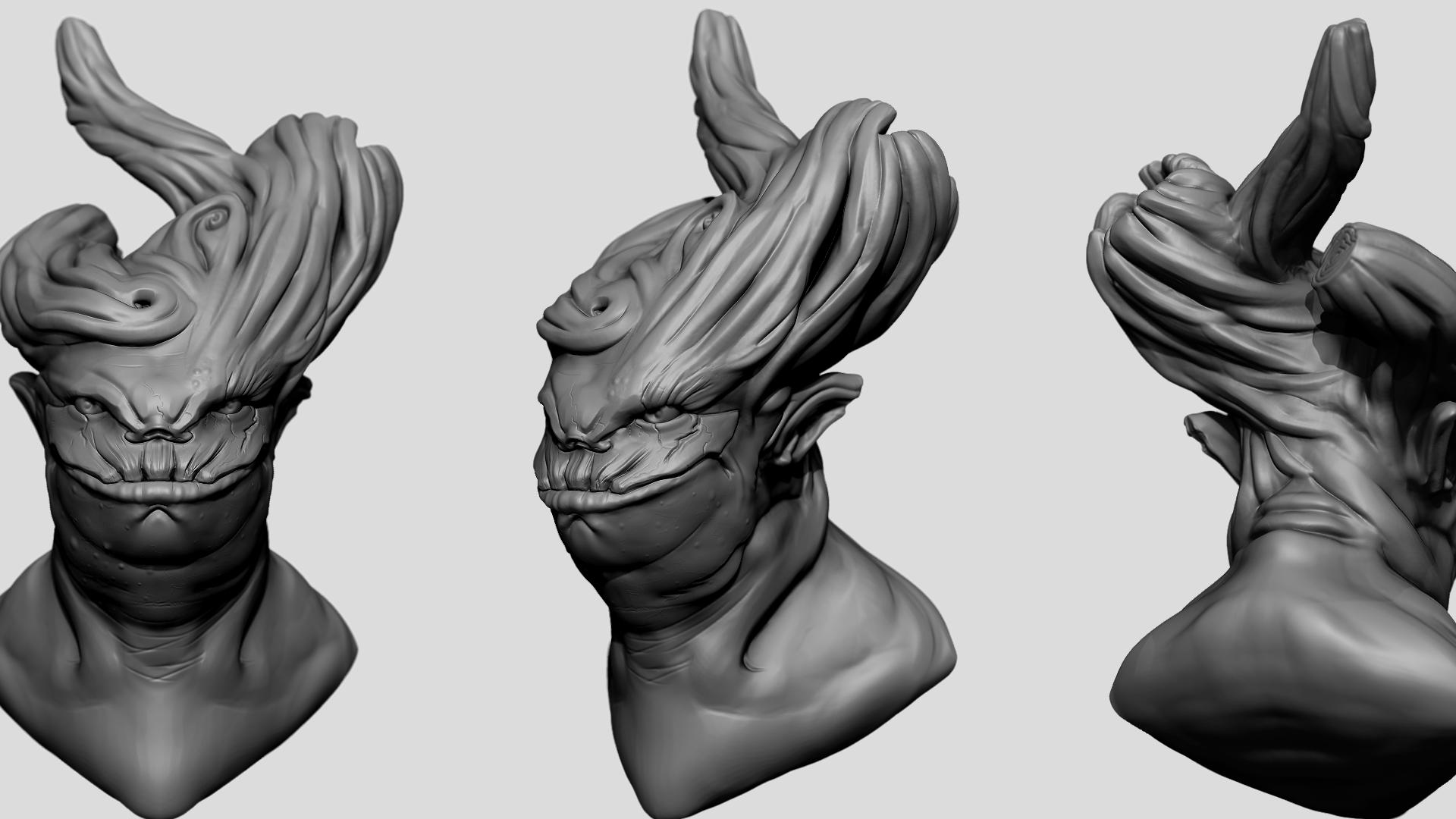 Wood Creature Quick Sculpt