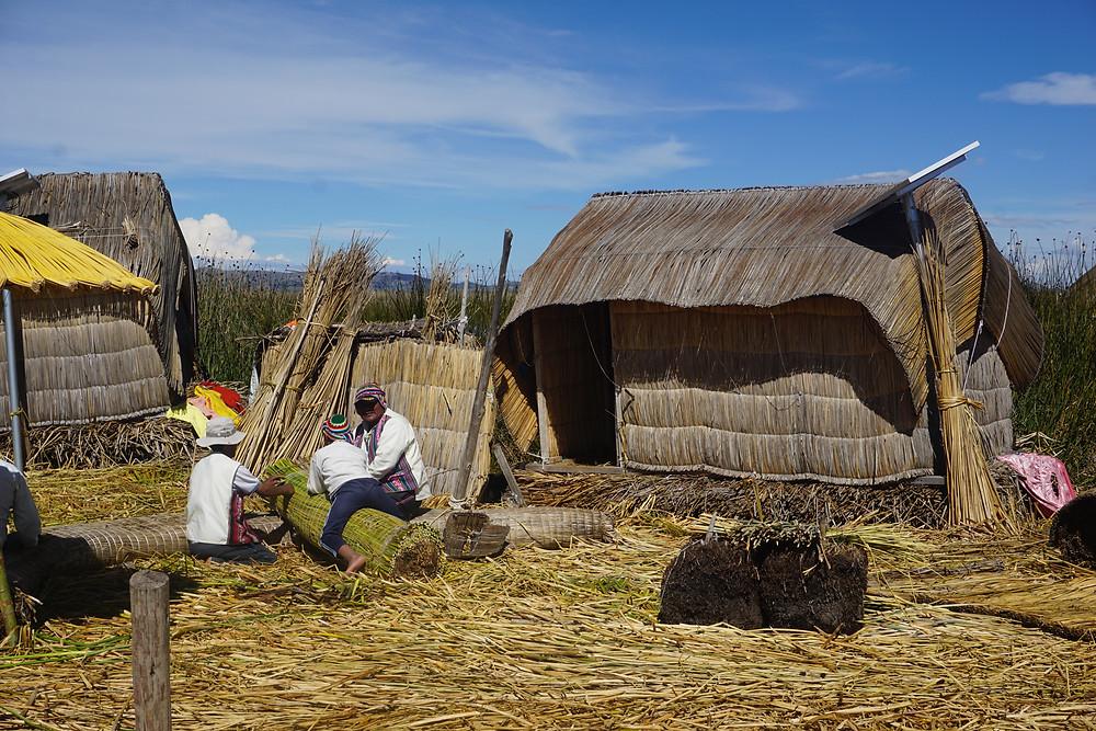Voyage Pérou - Séjour lac titicaca - Puno Ile flottantes - Noho Travels